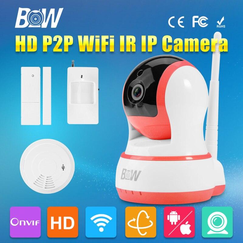 720P HD IP font b Camera b font P2P Rotatable Smart Security CCTV Wireless Wifi Audio