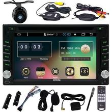 Navigation Wifi Android 6.0 in Dash Double 2 Din Capacitive Screen Car DVD Player for Universal 2din Vehicles Wireless Camera