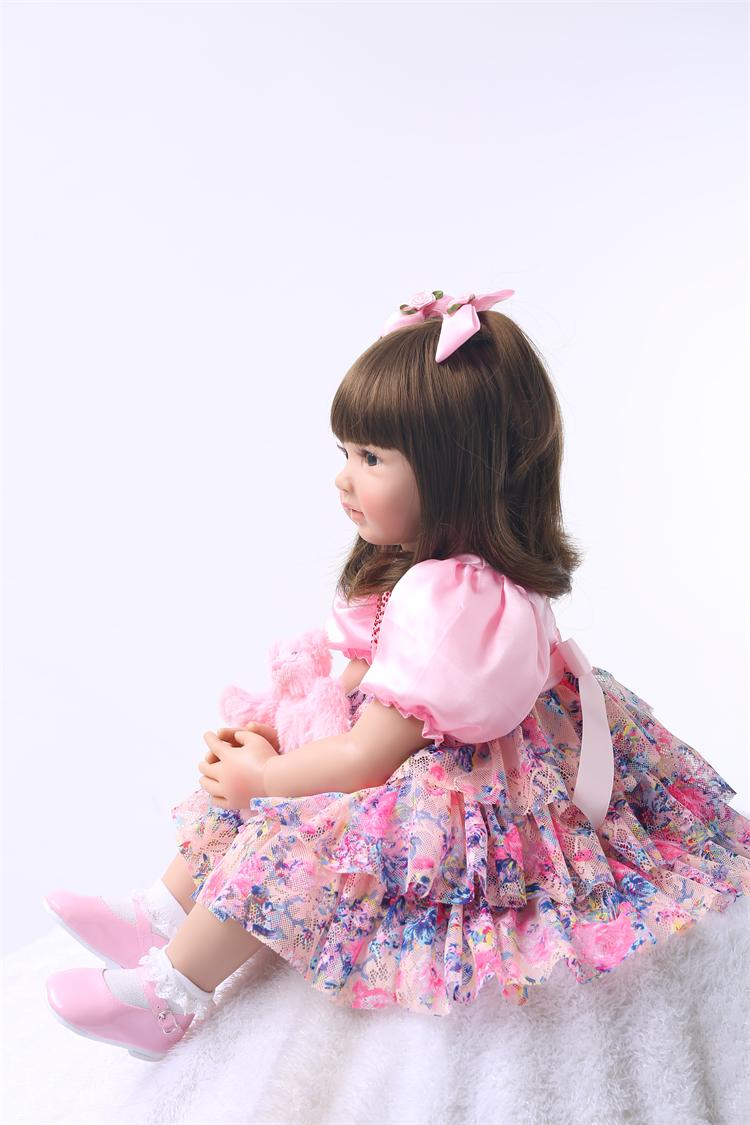 Silicone Reborn Baby Doll Toys High Quality Limited Collection Dolls 4