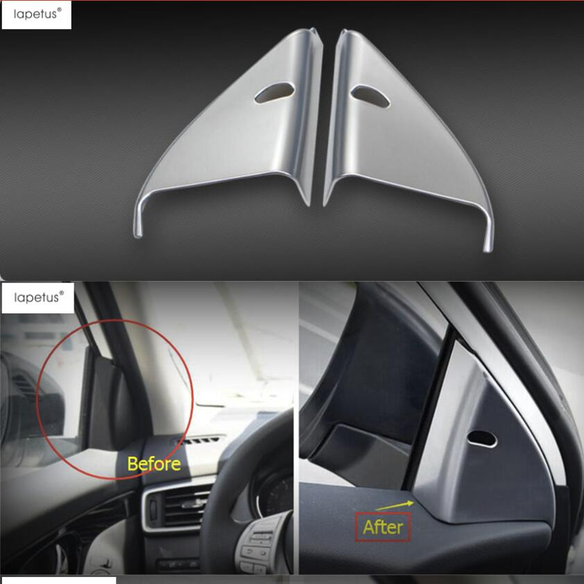 2014-2018 For Nissan Rogue Glossy Middle Air Vent Outlet Decoration Cover Trim