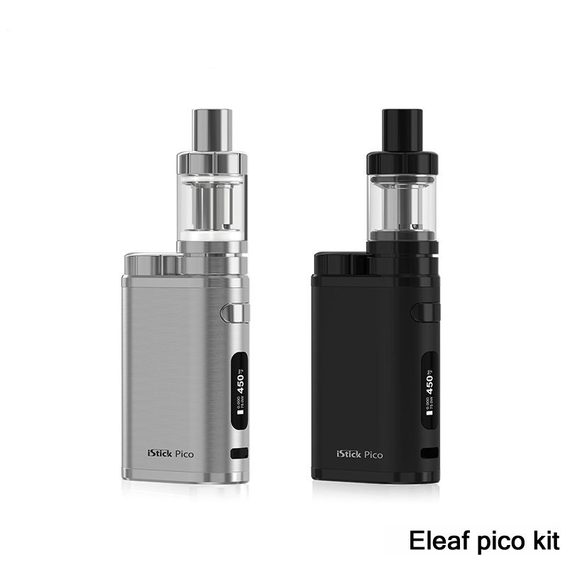ถูก บุหรี่อิเล็กทรอนิกส์iSmoka Eleaf iStick Picoชุด75วัตต์กล่องสมัยVape 2มิลลิลิตรMelo IIIมินิ/4มิลลิลิตรMelo IIIถังVaporizerมอระกู่