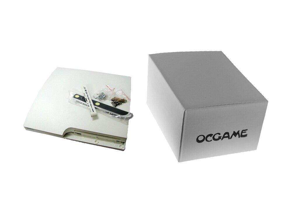 qualidade branco completo habitação caso escudo para ps3 magro ocgame