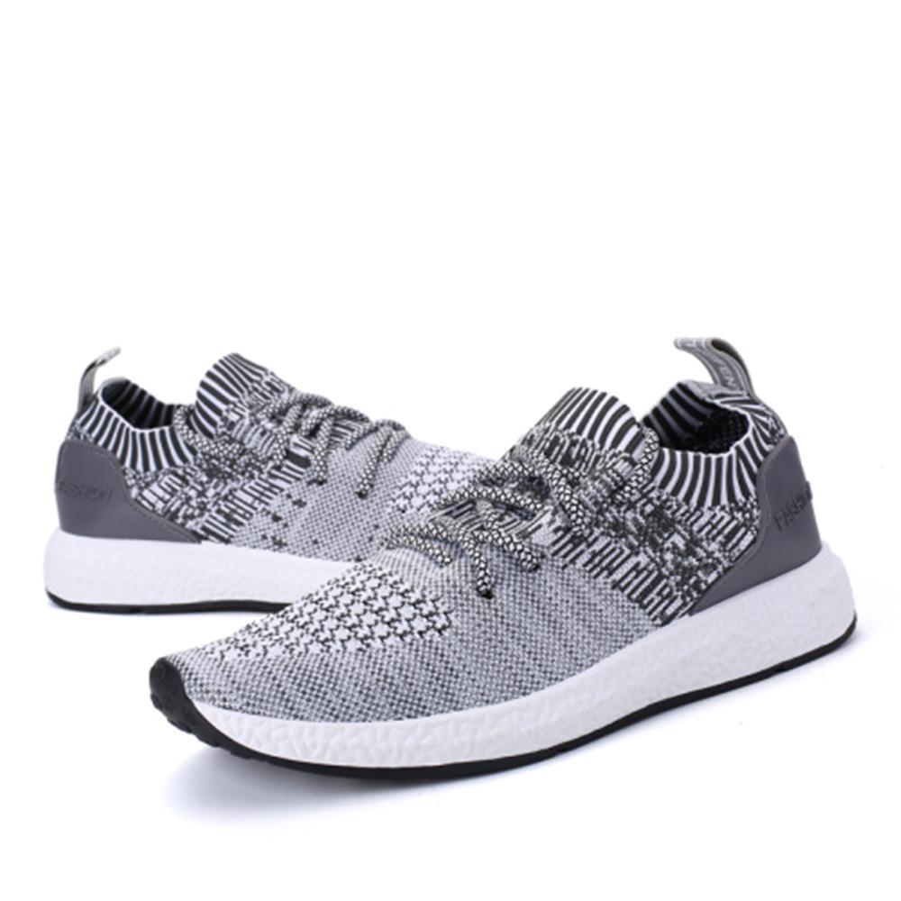 Más Grey Diseñador Primavera Grey Casual Calzado De Hombre Hombres Zapatos Black Tamaño Verano 38 Nueva 46 Marca 2018 light Moda dark 85OqUxCw