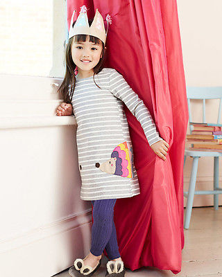 Stylish-Kids-Children-Girls-Clothes-Dresses-Birthday-Gifts-Party-Long-Sleeved-Shirt-A-line-Striped-Cotton-Dress-2-3-4-5-6-7-Year-2