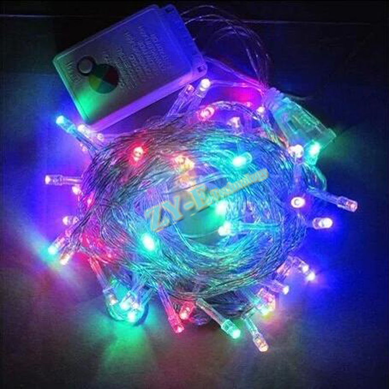 100M Waterproof <font><b>220V</b></font> 600 <font><b>LED</b></font> holiday String lights for Christmas Festival Party Fairy Colorful Xmas <font><b>LED</b></font> String Lights free ship image