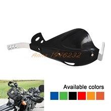 "7/8 ""Мотоцикл Байк ATV Кисточки Бар Рука гвардии Handguard протектор для Honda KAWASAI Ktm Suzuki Yamaha Motorcross"