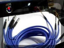 10pcs x שני חוט PT100 PT1000 נירוסטה 1 מטר עמיד למים טמפרטורת בדיקה טמפרטורת חיישן במלאי 2m כבל