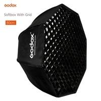 Godox Portable 80 cm parapluie octogone Softbox réflecteur avec grille nid d'abeille boîte souple pour TT600 TT685 V860II Flash Speedlight