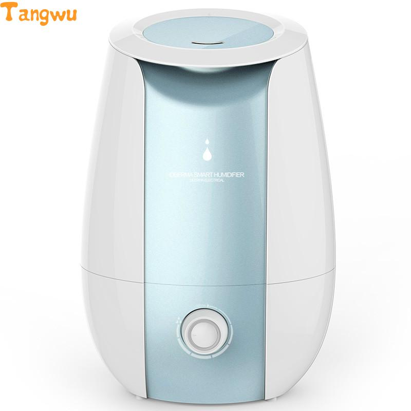 Free shipping new home office large bedroom quiet humidifier aromatherapy mini air conditioner air purifier Humidifiers wholesale price free shipping 4 in 1 bedroom air purifier working noise less than 35db one touch operation