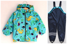 Retail Germany original single TOPOLINO mice windbreaker suit (jacket + overalls) free shipping