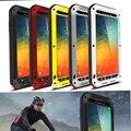 ЛЮБОВЬ МЭЙ металл Телефон Случаях срок поверхность Всепогодный Футляр для SAMSUNG Galaxy Note 5 Металла Combo Защитный С Gorilla Glass
