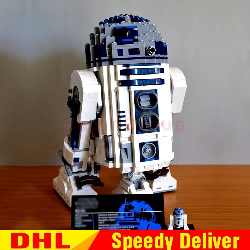 Lepin 05043 Genuine Star Wars Kits The R2 Robot Set D2 Out of print Building Blocks Bricks legoings Toys Clone 10225 цена