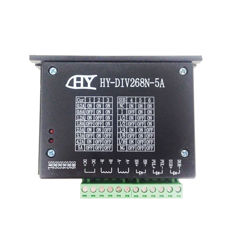 CNC Single Axis 2 Phase TB6600 Hybrid Stepper <font><b>Motor</b></font> <font><b>Driver</b></font> 0.2A ~ <font><b>5A</b></font> <font><b>DC</b></font> 12 ~ 48V image