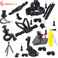 Gopro accessories set for go pro hero 5 4 3 3+ Black Edition SJ4000 SJ5000 M10 M20 camera case xiaoyi chest tripod GS26 SOOCOO