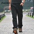 Alta Calidad Male Táctico Militar Multi-Bolsillo de Los Pantalones de Diseño Homme Baggy Joggers