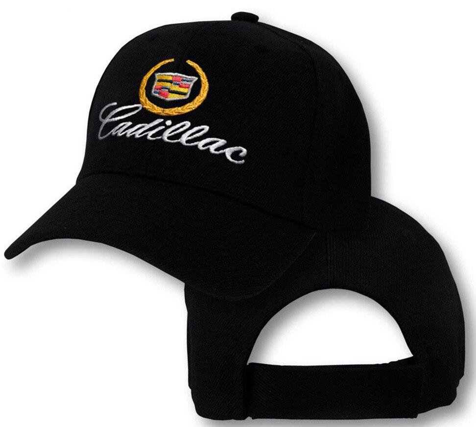 e0289d4c Cadillac Logo Cap GM CTS Escalade XTS SRX ATS ELR Emblem Embroidered Hat  Caddy adjustable baseball