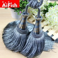 Multi Color Optional Decorative Curtain tassels High Quality Tieback for Curtains hot selling solid curtain accessories cp020