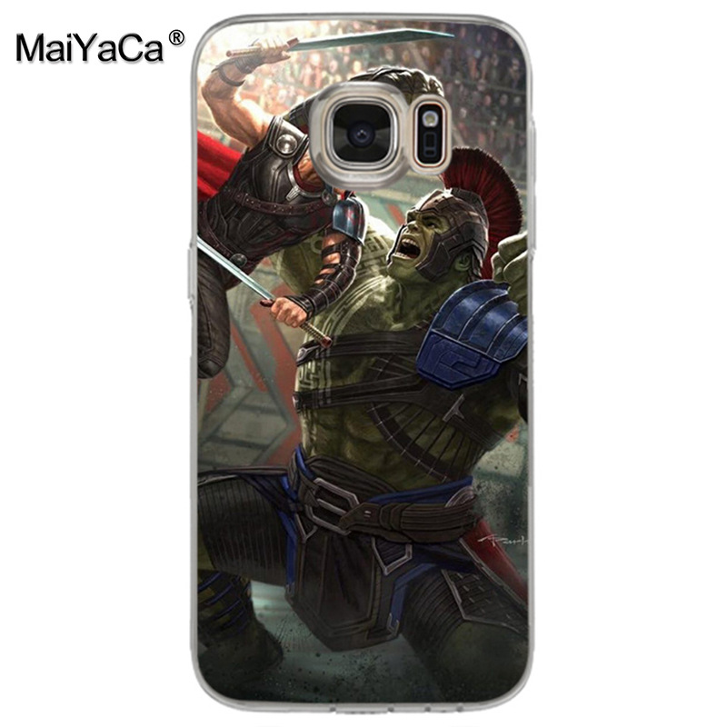 Us 0 85 14 Off Maiyaca Thor Ragnarok Woman Transparent Soft Tpu Phone Case Cover For Samsung Galaxy S8 S7 Edge S6 Edge Plus S5 S9 Case In