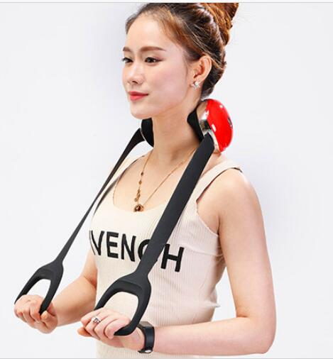 Domestic USB charging cervical neck massager shoulder waist abdomen leg hip buttock rechargeable back massager heating недорго, оригинальная цена