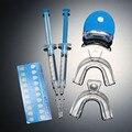 6 Pçs/lote Higiene Oral Equipamentos Odontológicos Set Kit Casa 44% Peróxido Dental Branqueamento Dentes Branqueamento Gel Clareador de Dente Oral Ferramenta