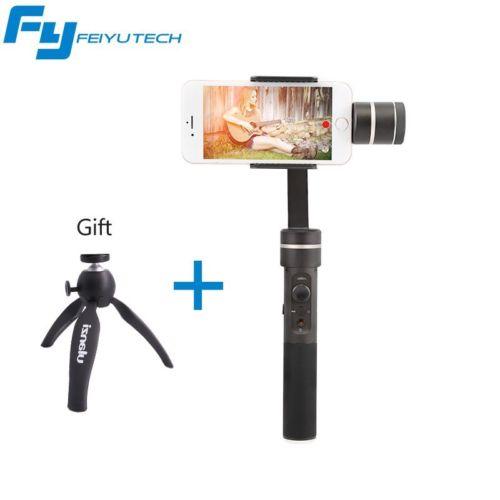 Feiyu SPG C 3 Axis Handheld Gimbal for iphone HUAWEI Samsung Smartphone