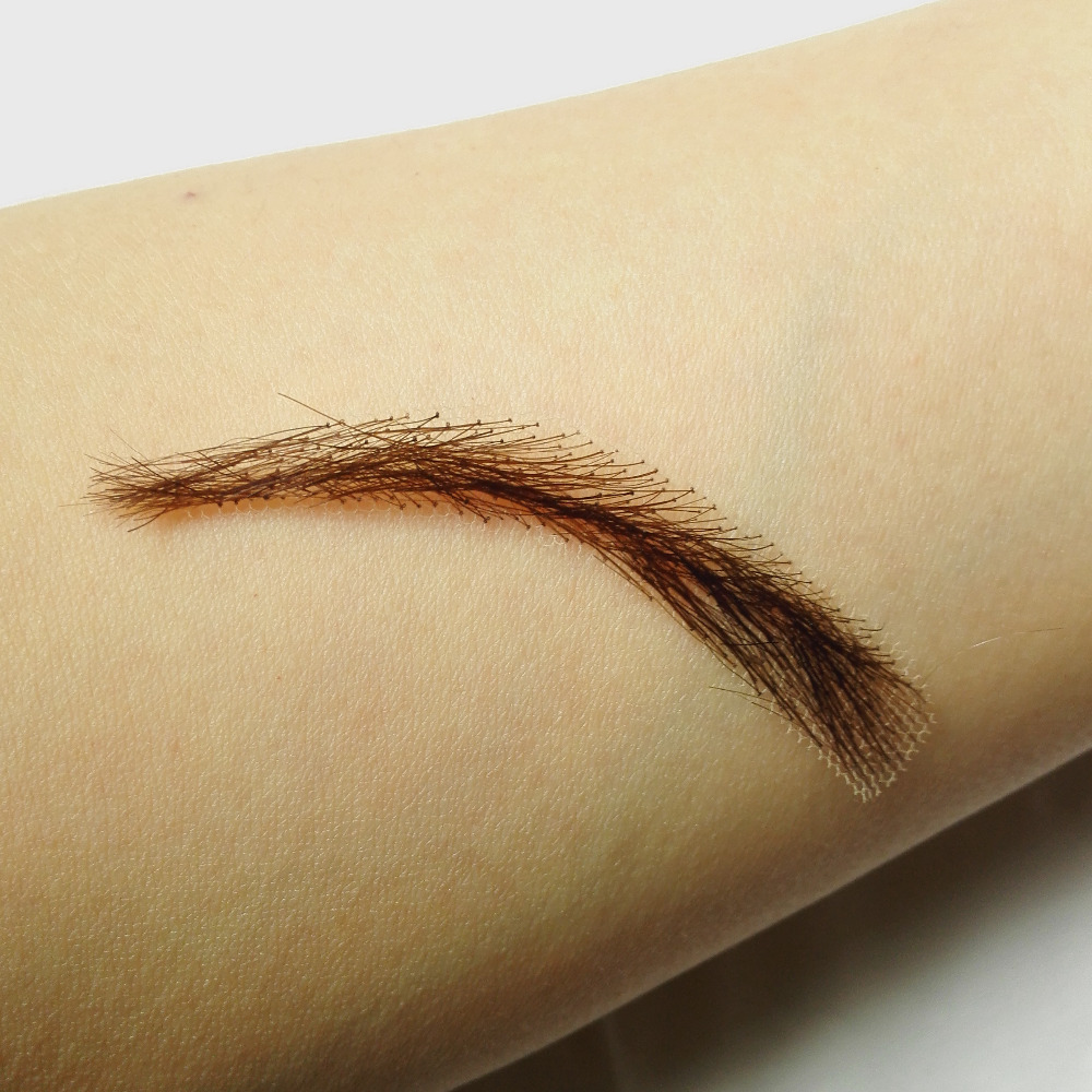 invisible swiss lace relastic hand made human hair false eyebrow hand made fake eyebrow model 01 помада для губ mega last lip color тон just peachy wet n wild