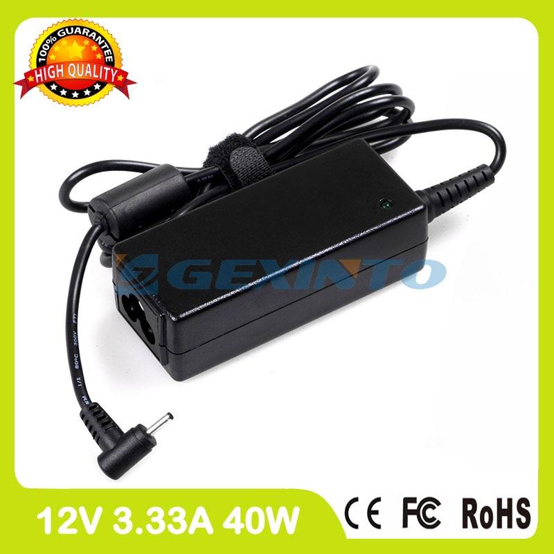 12 V 3.33A 40 W adaptador AC BA44-00294A cargador portátil para Samsung Chromebook 3 XE303C12 XE303C12-A01 ativ TAB GT-P8510