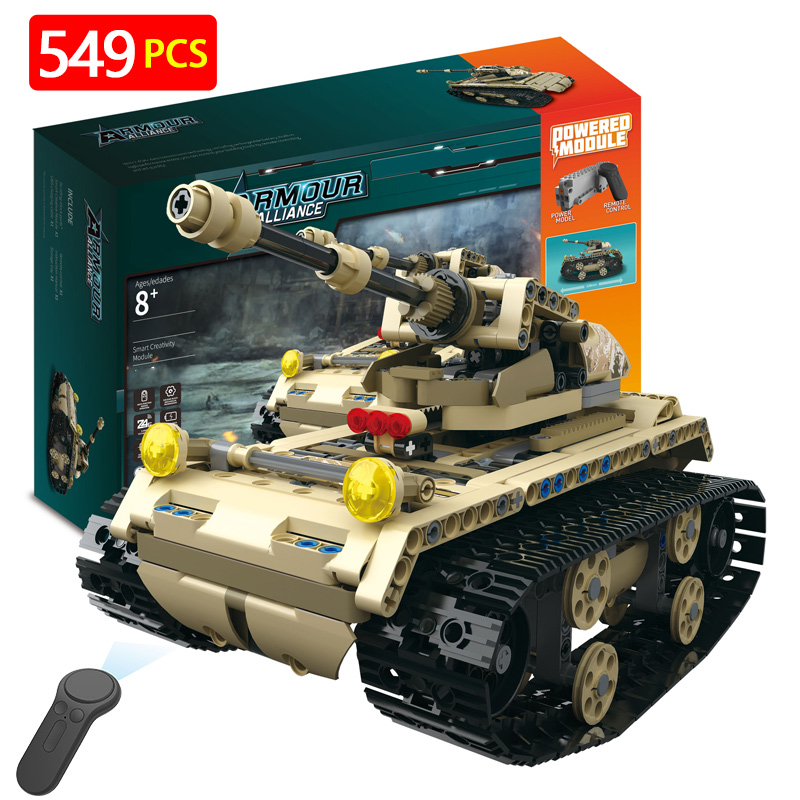 Technic Hummer Blocks Compatible LegoINGLY Tank Blocks Tiger M1A2 Sets Military Kits Army World War 2 Brick Toys for Children
