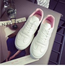 2017 New Women PU running shoes Real Leather Shoes Mother Loafers Soft Flat wear Female Driving sport Footwear Size 35-40