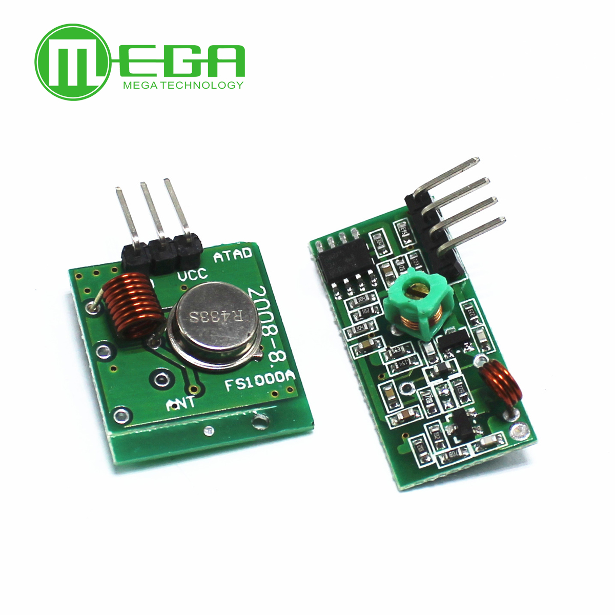 10pairs Rf Wireless Receiver Module Transmitter Board For Pair Operating At 433 Mhz Arduino Regenerationf 433mhz Dc5v 10pair Lot 20pcs In Integrated Circuits From
