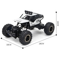 1/16 RC Car 4WD 2.4GHz Radio Control High Speed Off-Road Monster Truck Toys Buggy Vehicle Kids Christmas Children Suprise Gift 4