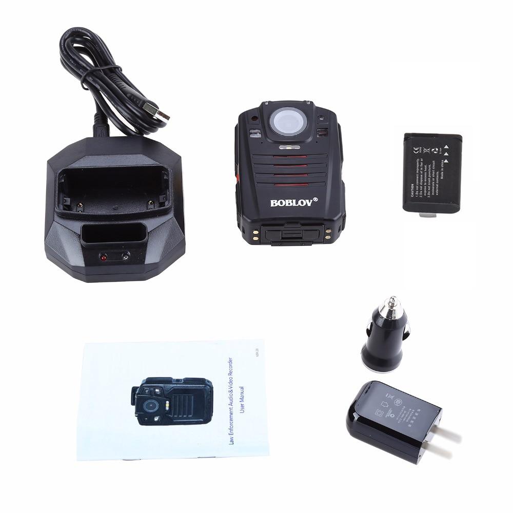 BOBLOV HD66 07 Ambarella A12 ИК ночного видения мини камера 64 Гб Видео Аудио рекордер Микро espion тела полицейская камера HD - 6