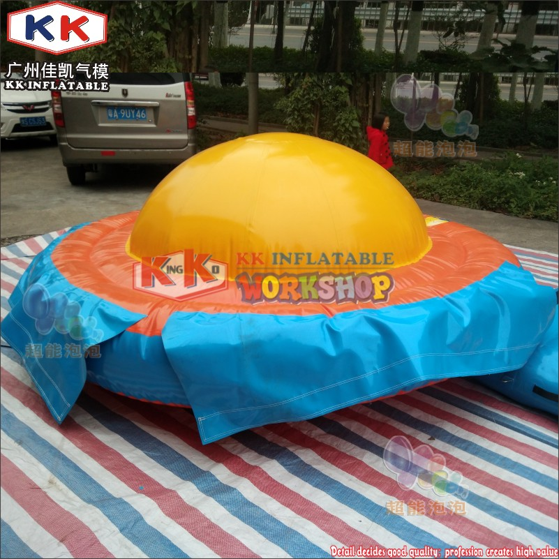 Durable Lake Sea Game Inflatable Water Saturn Inflatable UFO For Water Game Inflatable Spinner
