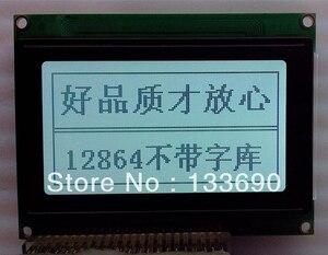 1pcs 12864 128*64 128X64 Graphic Dot LCD Module KS0107 KS0108 controller 20pin POS Gray FSTN the dimension 93x70 mm vg128641