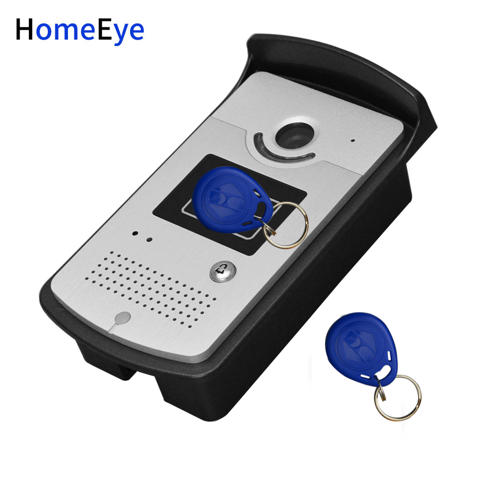 10'' Screen Video Door Phone Video Intercom 2V1 Home Access Control System+RFID Card Reader 1200TVL Waterproof Touch Button OSD - 2