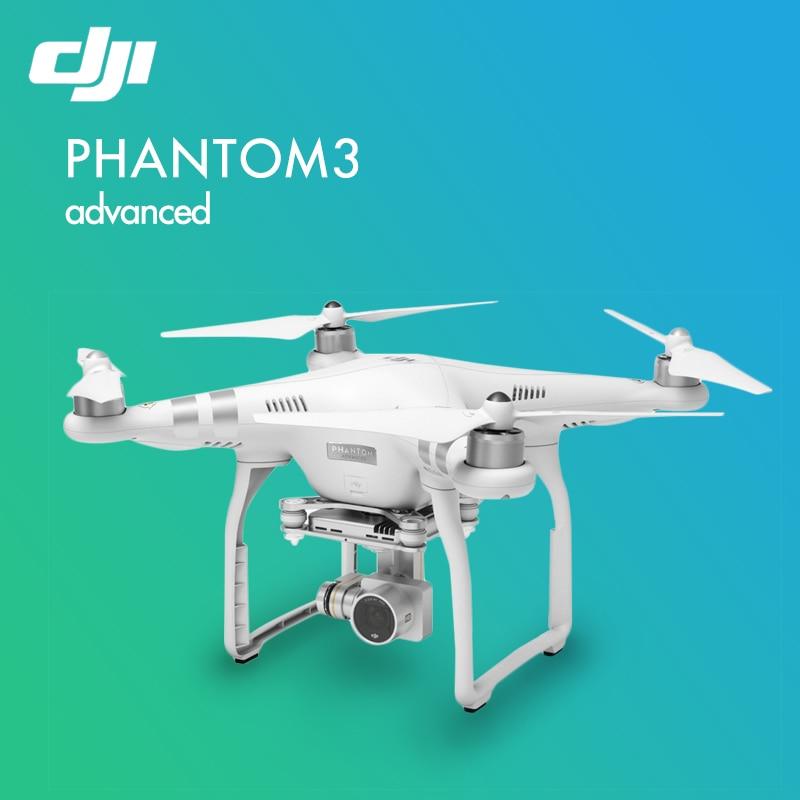 Original DJI UAV Remote Control Helicopter DJI PHANTOM 3 Advanced Quadcopter FPV RC Helicopter Drone with 1080P Camera