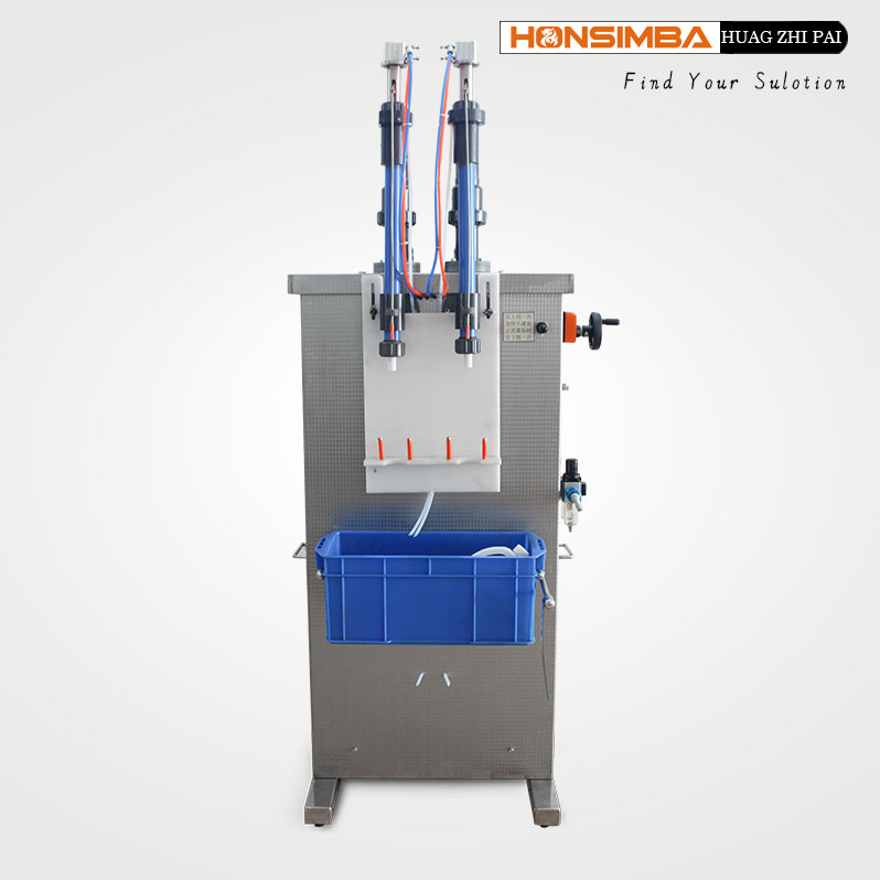 two nozzles Cleaning Products Corrosion filling machine 50ml--1000ml
