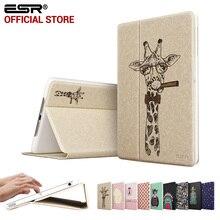 ESR Illustrators Cartoon Folio Stand Smart Cover Auto Wake Up/Sleep Case for iPad Air (5 Gen 2013)