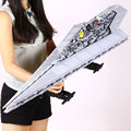 2017 Nueva LEPIN 05028 Star Wars Execytor Super Star Destroyer Modelo Kit de Construcción de Ladrillo Bloque Compatible 10221 Toy Boy Regalos