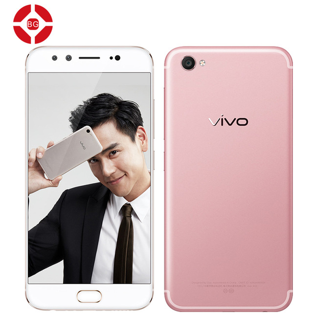 BG Original VIVO X9 4G FDD LTE Octa Core 2.0GHZ Front Dual 20MP+8MP 5.5 Inch Mobile Phone Android 6.0 1920*1080 Fingerprint