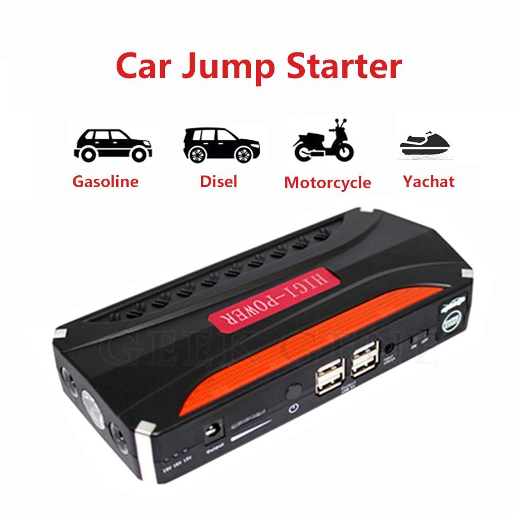 все цены на EmergencyCar Jump Starter 600A Power Bank 12V Portable Car Charger for Car Battery Petrol Diesel Booster Buster Starting Device