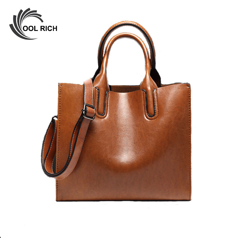 Casual Women PU Leather Tote Bag Shoulder Big Bag Ladies Messenger Bags for Women's Handbags Brand Luxury Designer Bolsos Mujer