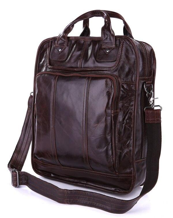 98c59da72defe JMD Retro prawdziwe skórzane plecaki podróżne torba na ramię mężczyźni 7168C