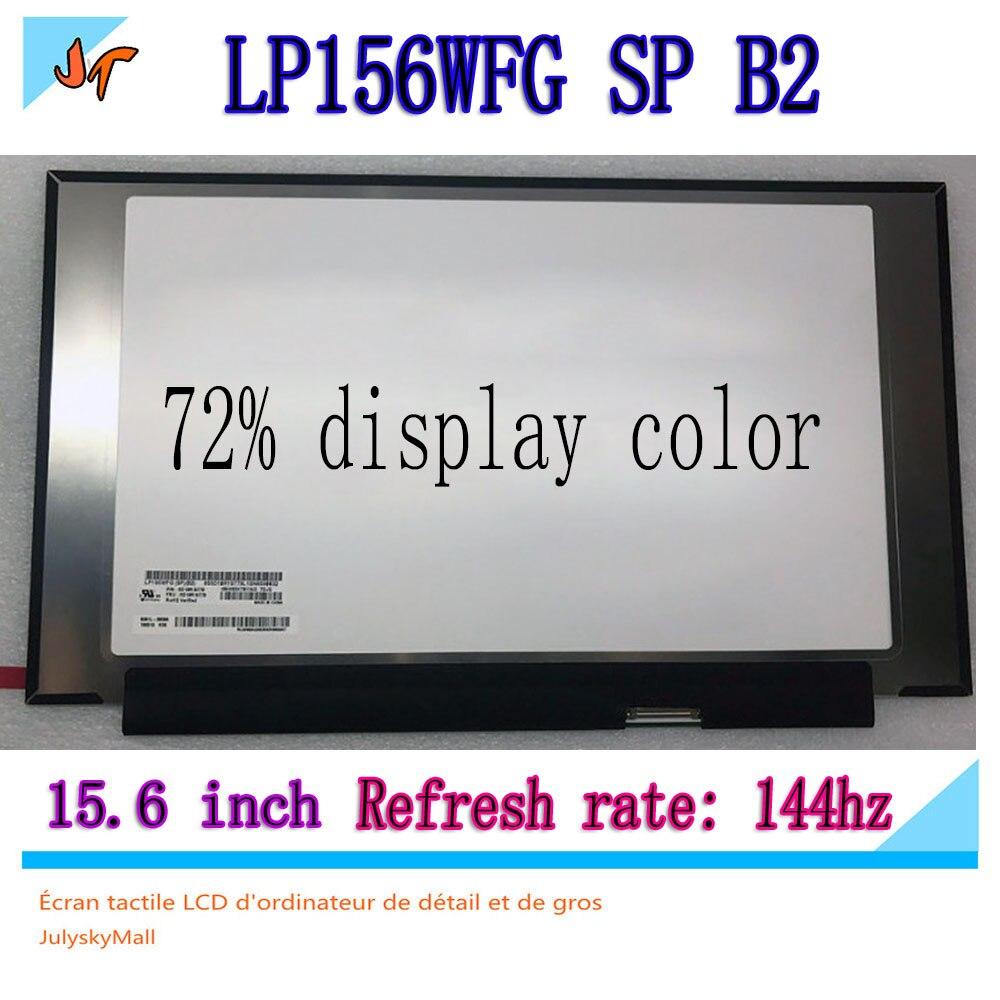 Original 144hz LCD screen 72 NTSC micro edge LP156WFG SPB2 B156HAN08 2 15 6 inch Ips