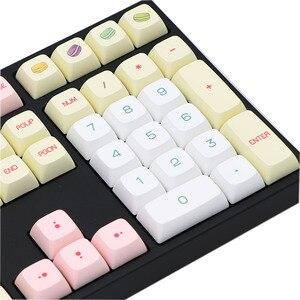 Image 5 - BGKC PG Macaron Ethermal barwnik sublimacyjny czcionki PBT DSA dla przewodowy USB klawiatura mechaniczna przełącznik Cherry MX nasadki klawiszy