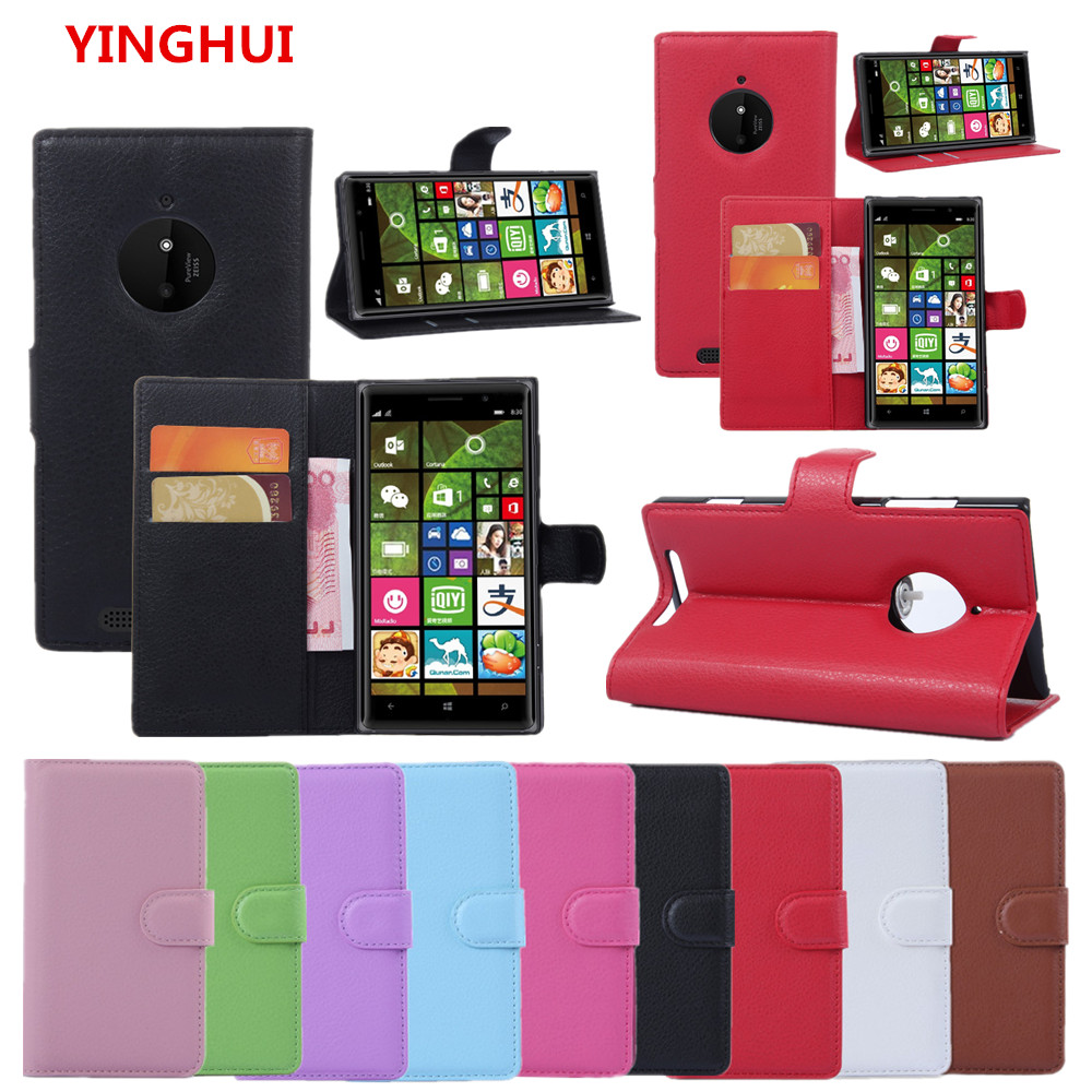 new style 3317c 4b098 US $3.18 16% OFF|For NOKIA Lumia 830 Case Luxury Wallet PU Leather Back  Cover Phone Case For NOKIA 830 N830 RM 984 Case Flip Protective Cover  Bag-in ...