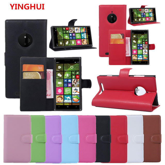 new style 643d7 282fc US $3.18 16% OFF|For NOKIA Lumia 830 Case Luxury Wallet PU Leather Back  Cover Phone Case For NOKIA 830 N830 RM 984 Case Flip Protective Cover  Bag-in ...