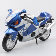 1:12 Scale brand Maisto Suzuki GSX1300R busa falcon Hayabusa diecast motorcycle moto sport bike model vehicle for children's toy ohs tamiya 14093 1 12 yoshimura hayabusa x1 scale assembly motorcycle model building kits g