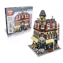2476Pcs Lepin 15002 City Street Creator setsBuilding Kit Minifigure Blocks Bricks Compatible Children Toy Gift