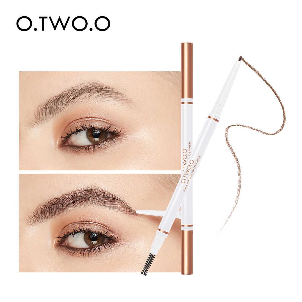 O.TWO.O העין מצח עיפרון Microblading מרכיב אולטרה בסדר 1.5mm יופי קוסמטי לטווח ארוך עמיד למים גבות משפרי 4 צבע